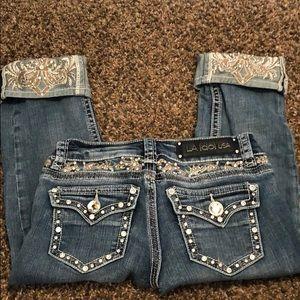 LA Idol Capri Jeans Size 1